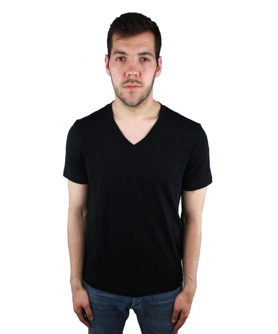 Image for Emporio Armani 3Z1T77 Black T-Shirt