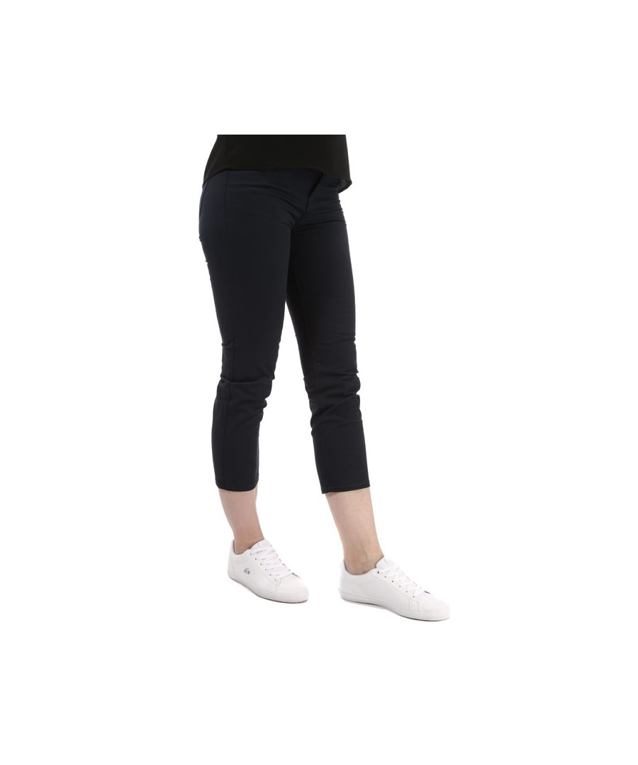 Image for Women's Armani J03 Cropped Skinny Jeans in Navy
