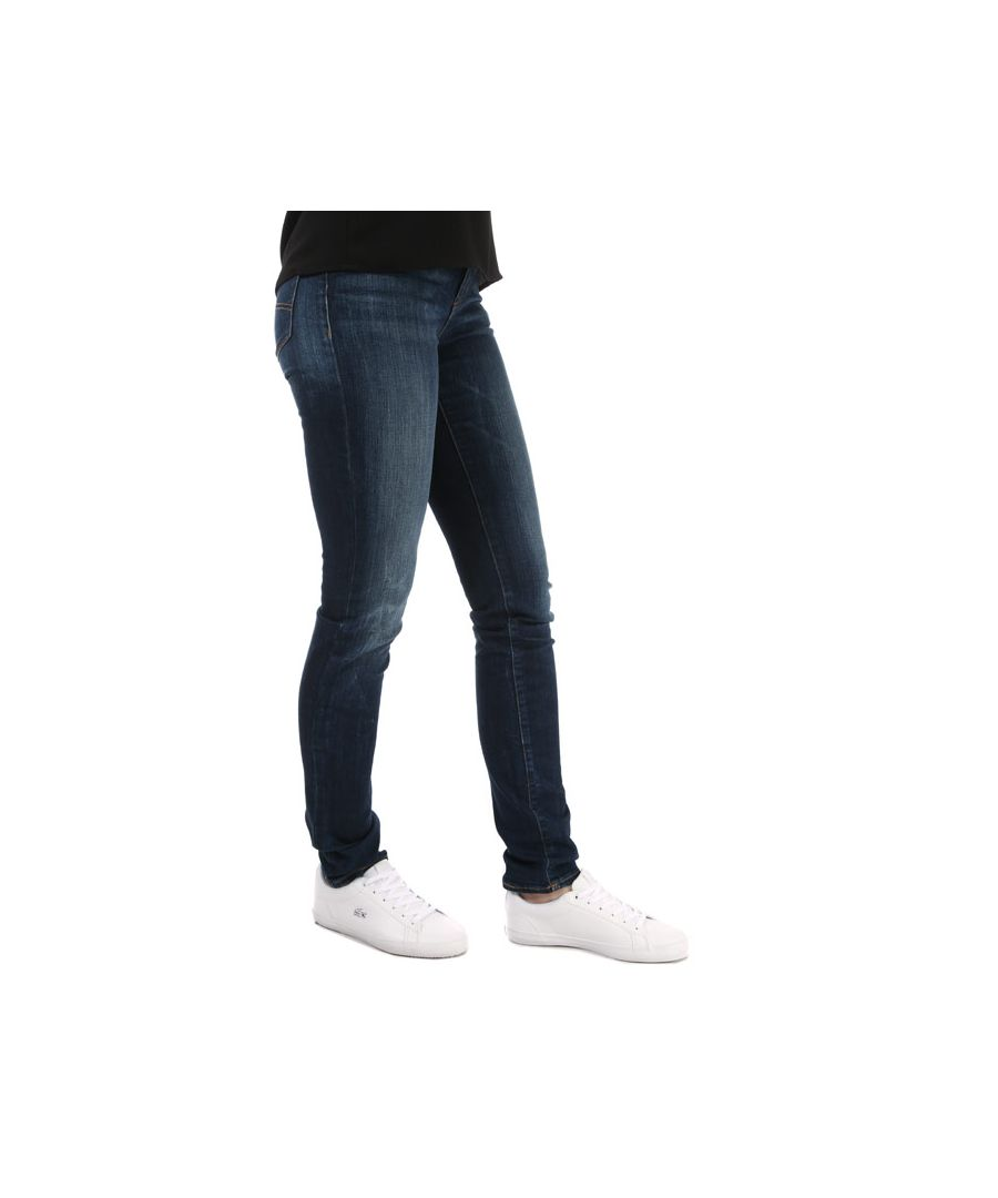 Image for Women's Armani J18 Slim Fit Jeans in Denim