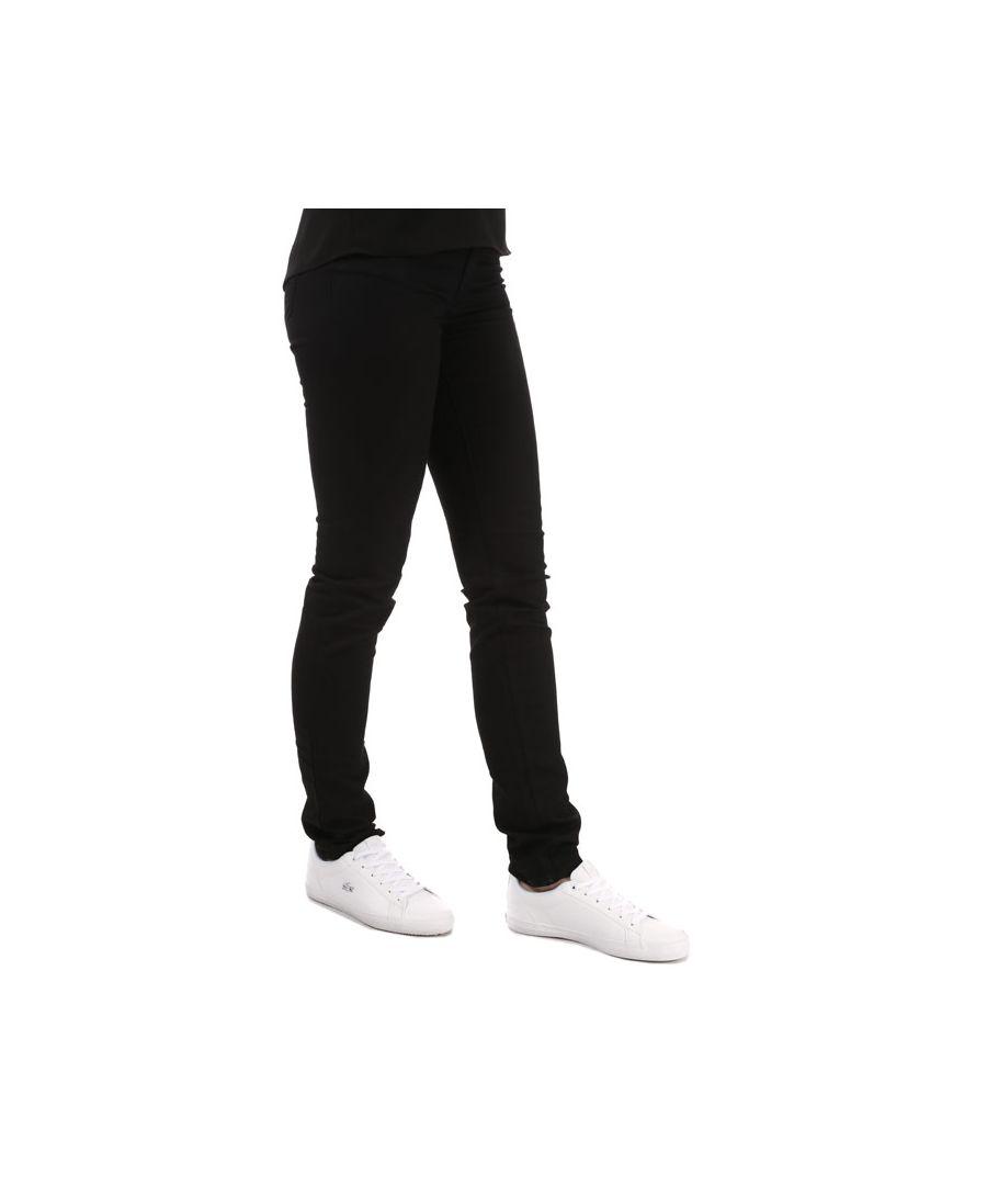 Image for Women's Armani J18 Slim Fit Jeans in Black