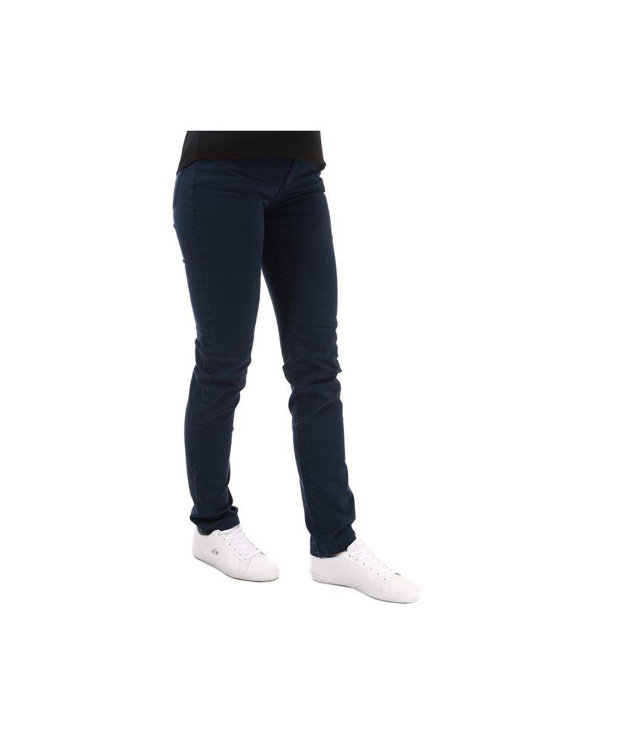 Image for Women's Armani J18 Slim Fit Jeans in Dark Blue