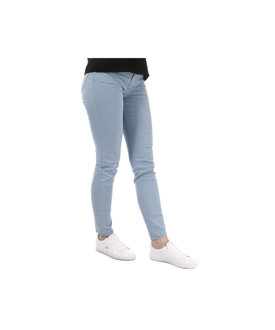 Image for Women's Armani J20 Super Skinny Stretch Jeans in Light Blue