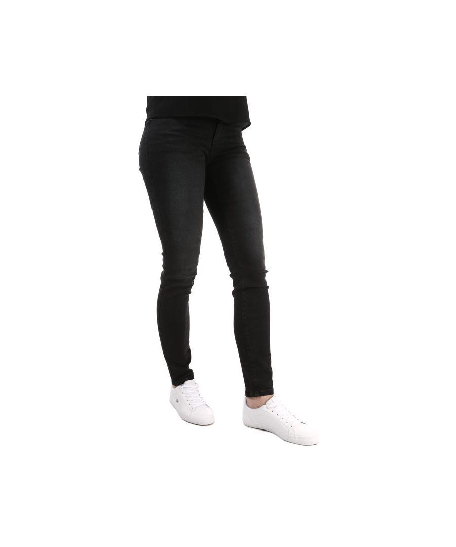 Image for Women's Armani J23 Skinny Jeans in Black