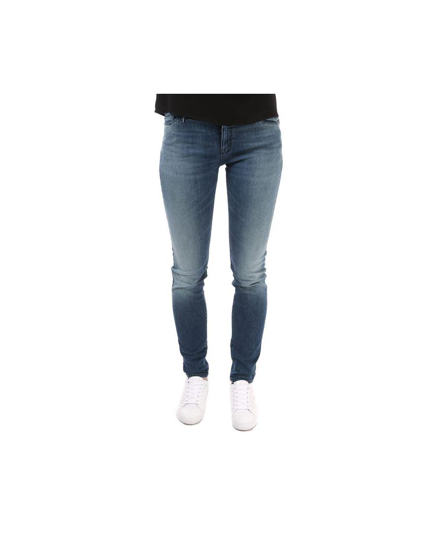 Image for Women's Armani J20 Super Skinny Stretch Jeans in Denim