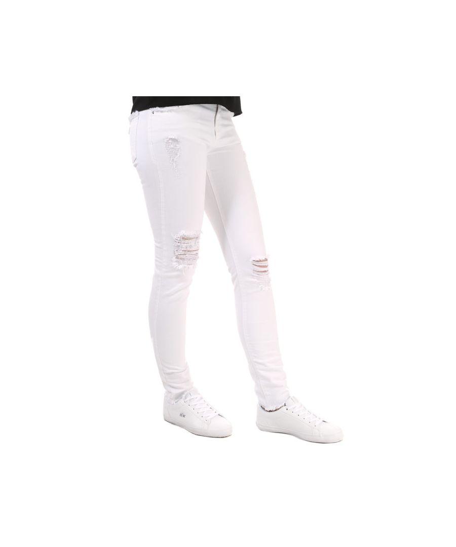 Image for Women's Armani J28 Skinny Jeans in White
