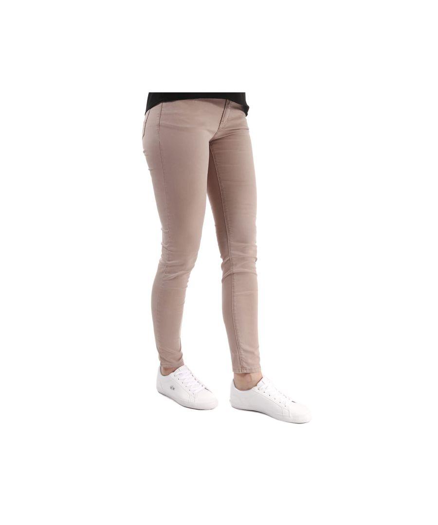 Image for Women's Armani J28 Skinny Jeans in Rose