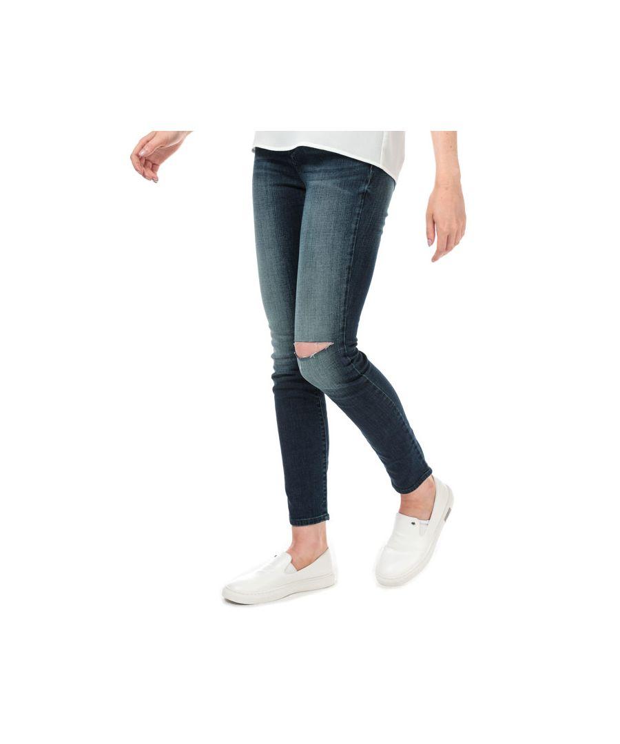Image for Women's Armani Exchange Skinny Jeans in Denim