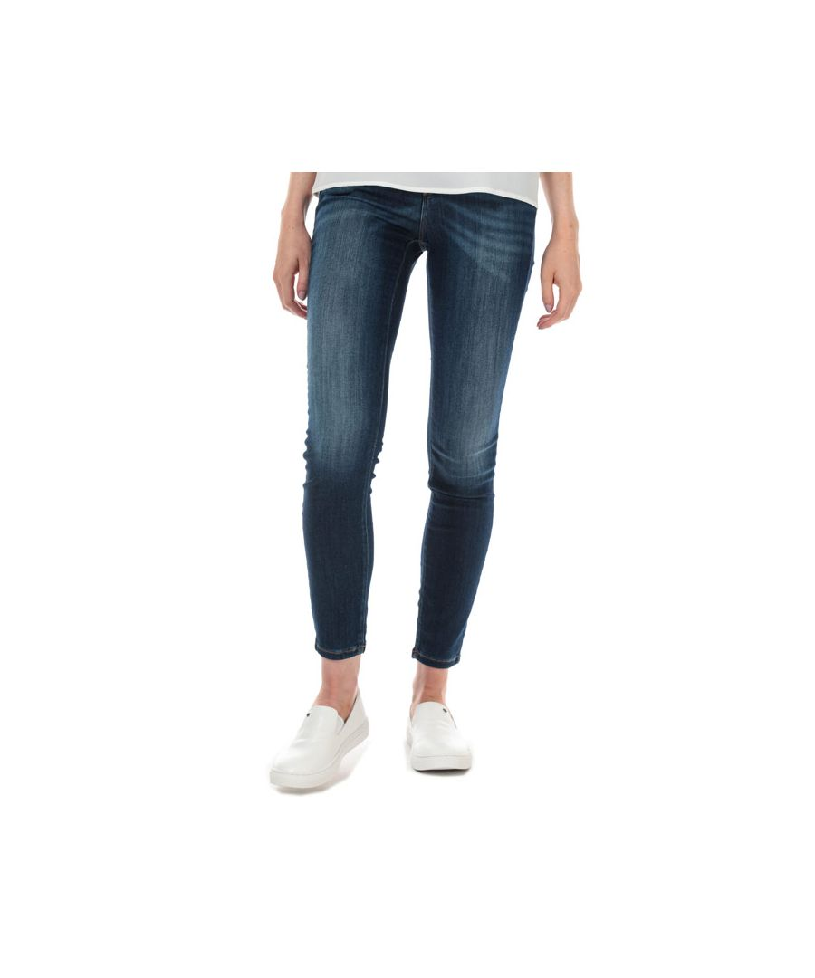 Image for Women's Armani Exchange J69 Super Skinny Lift-Up Jeans in Denim