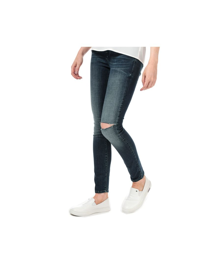 Image for Women's Armani Exchange J69 Super Skinny Lift-Up Jeans in Denim