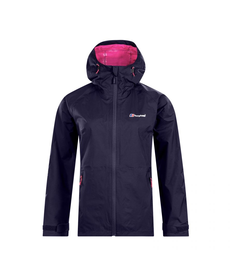 Image for Berghaus Deluge Pro Womens Waterproof Jacket Blue - UK 10