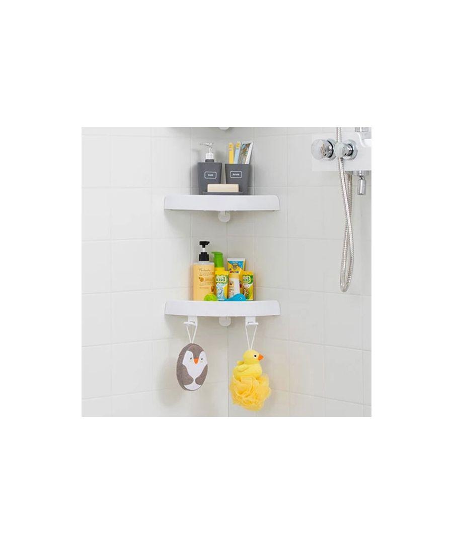 Image for Corner shower shelf 2 Units