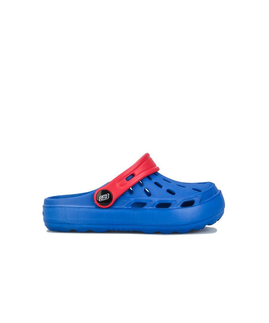 Image for Boy's Skechers Children Swifters Clog Sandal in Blue
