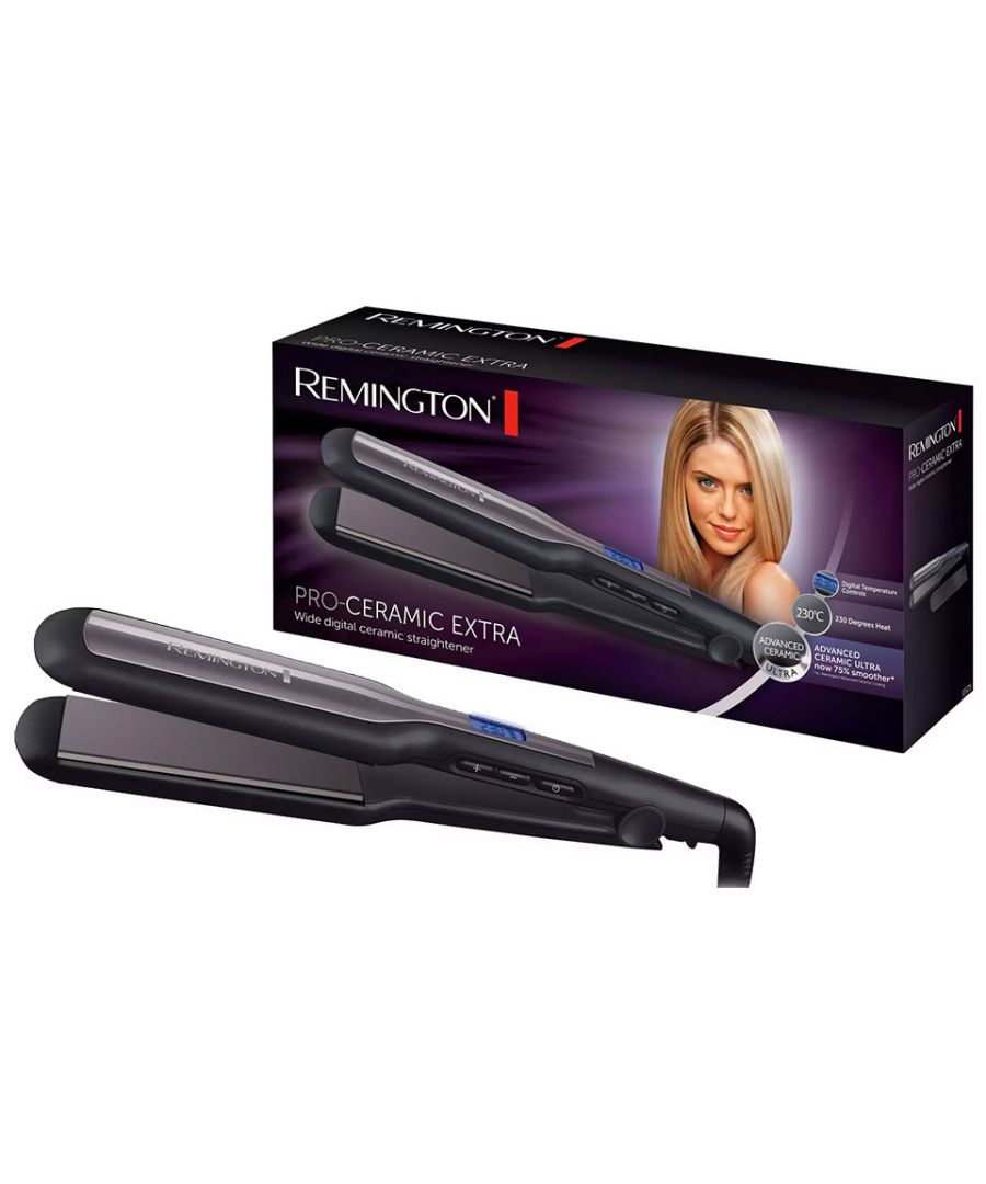 Image for Hair Straightener | Pro-Ceramic lWide Digital