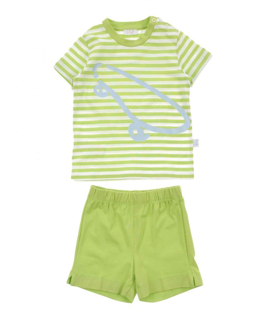 Image for BODYSUITS & SETS Il Gufo Light green Boy Cotton
