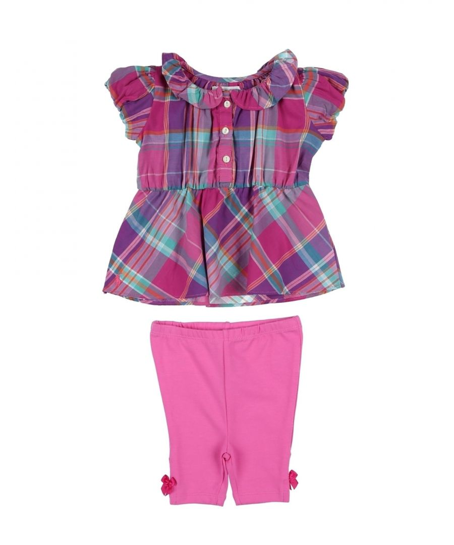 Image for BODYSUITS & SETS Ralph Lauren Fuchsia Girl Cotton