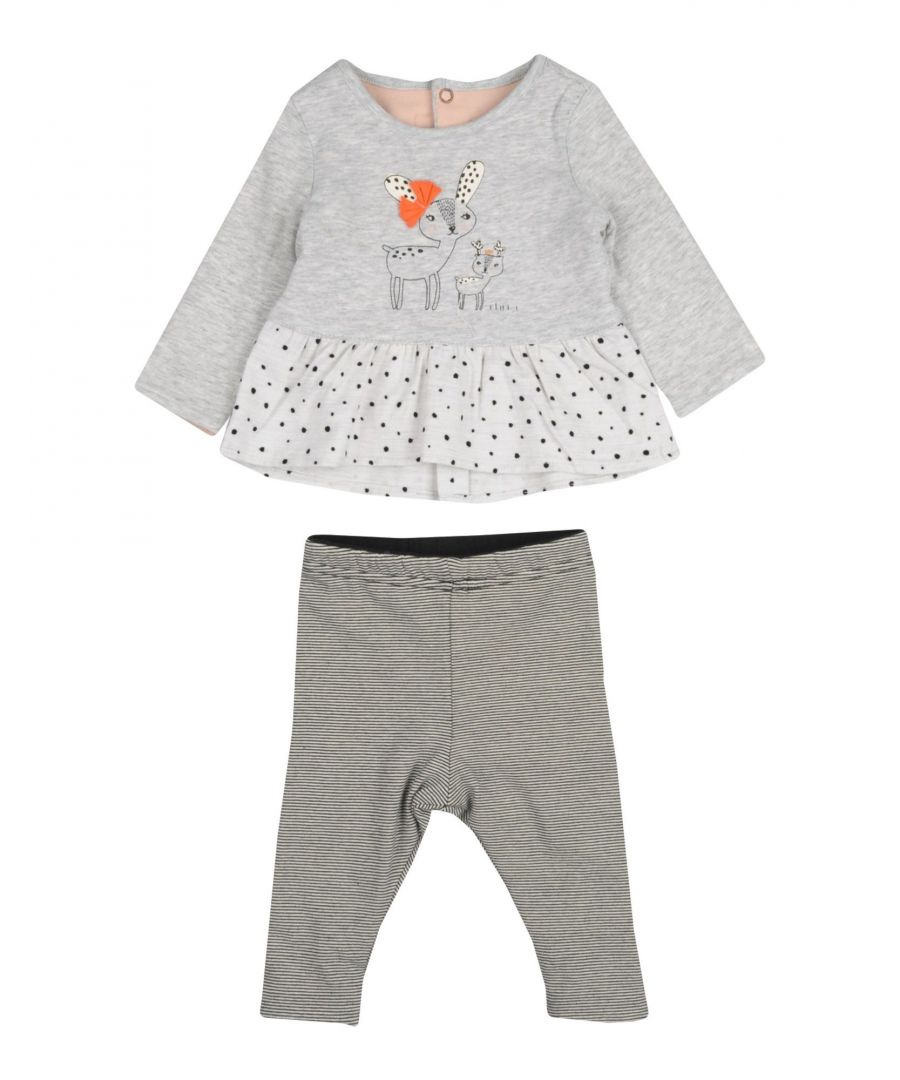 Image for BODYSUITS & SETS Catimini Light grey Girl Cotton