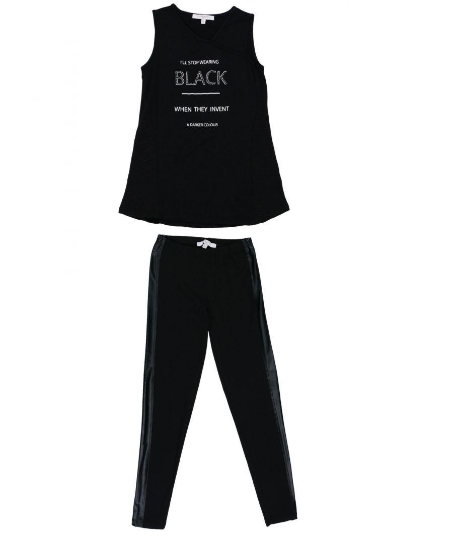 Image for SETS Silvian Heach Black Girl Viscose