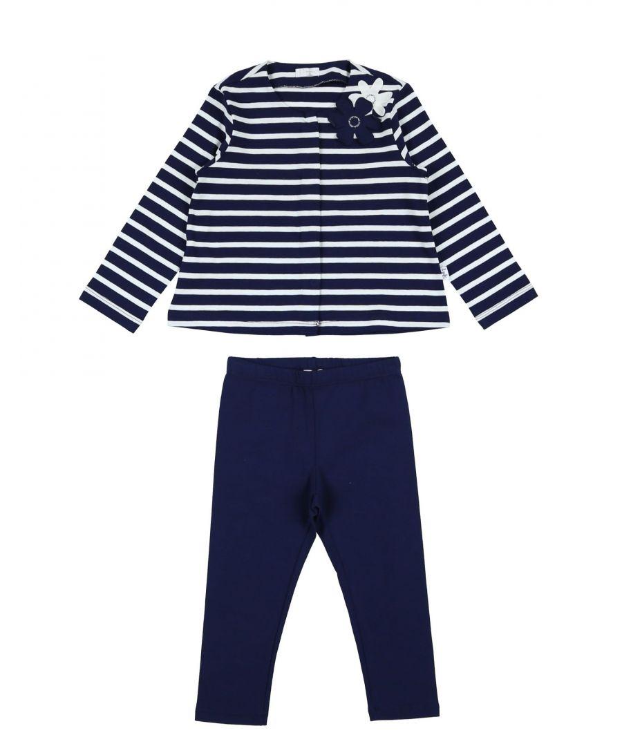 Image for Il Gufo Dark Blue Girl's Cotton Set