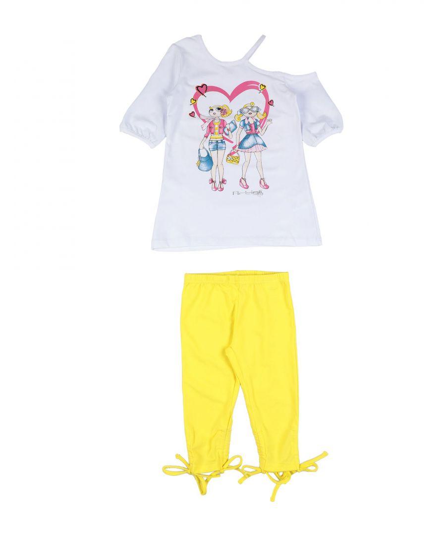 Image for SETS Girl Artigli Girl Yellow Cotton
