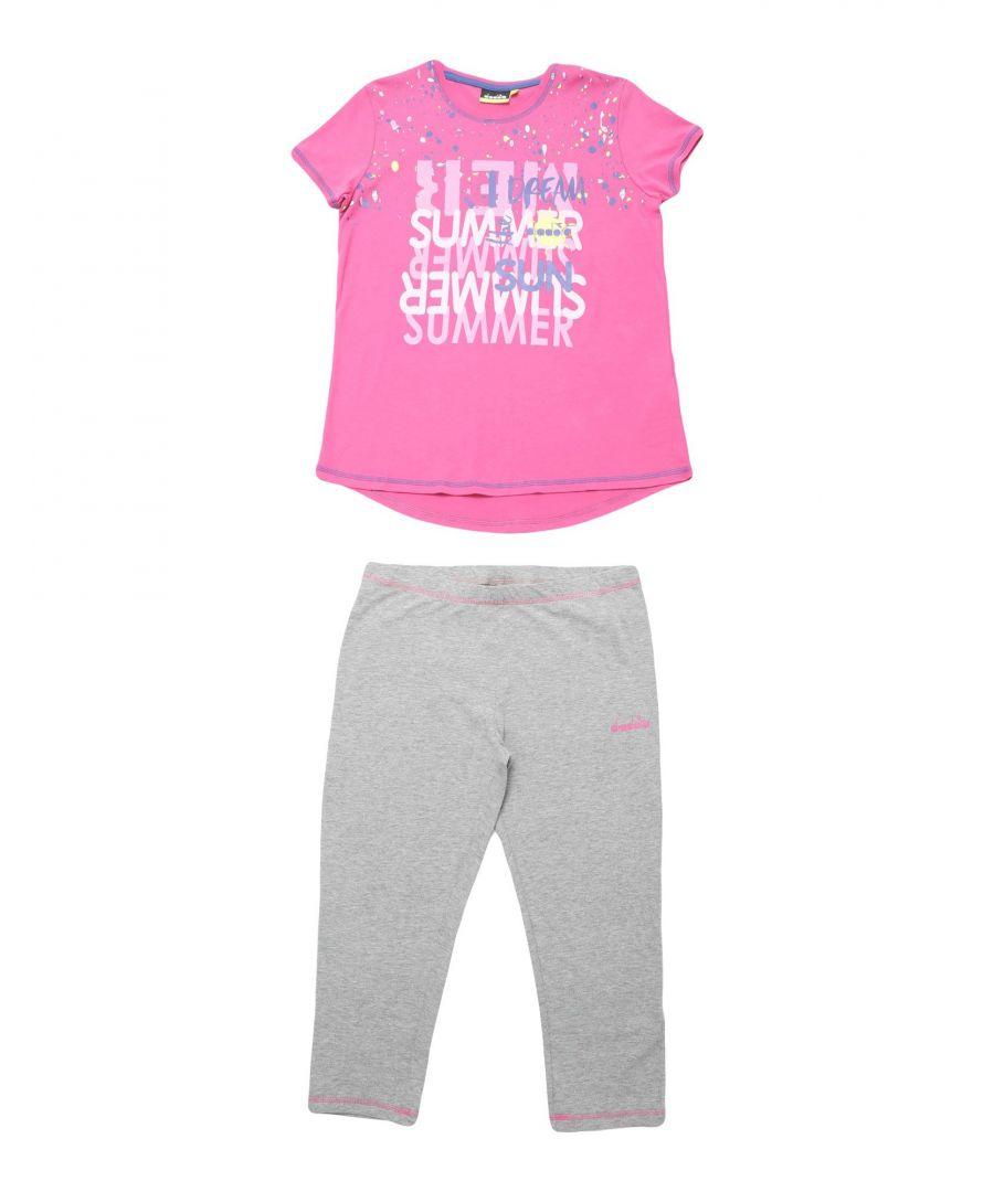 Image for SETS Girl Diadora Pink Cotton