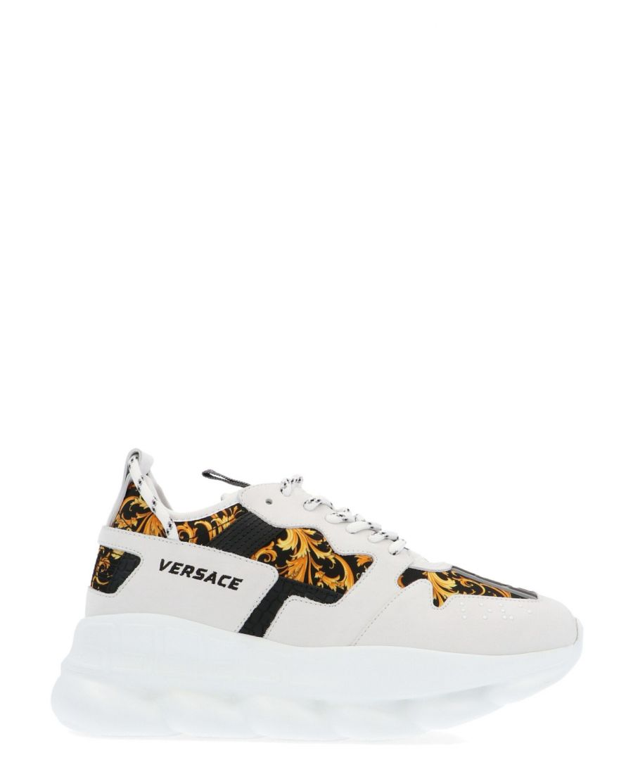 Image for VERSACE WOMEN'S DST030GDT21DBN9 WHITE POLYAMIDE SNEAKERS
