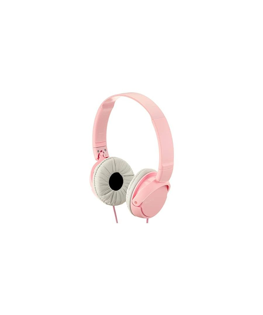 Image for Sony MDR-ZX110 Closed Headband Stereo Headphones Rose