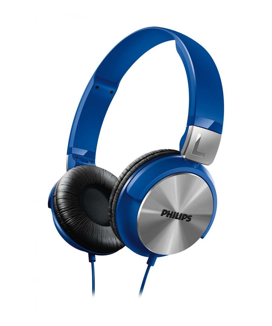 Image for Philips SHL3160 Closed Headband Headphones (valid for Android and Iphone), Blue