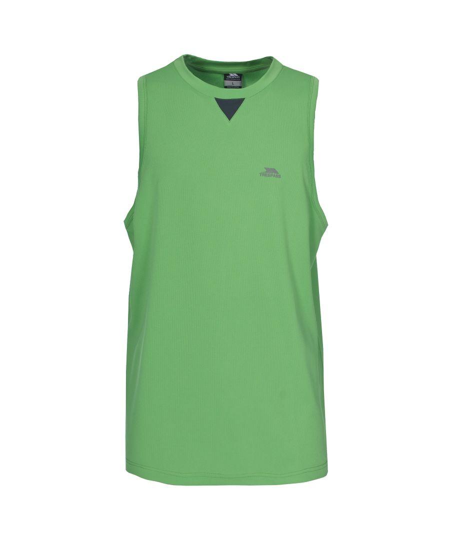 Image for Trespass Mens Bixa Quick Dry Sleeveless Vest Top (Cricket)