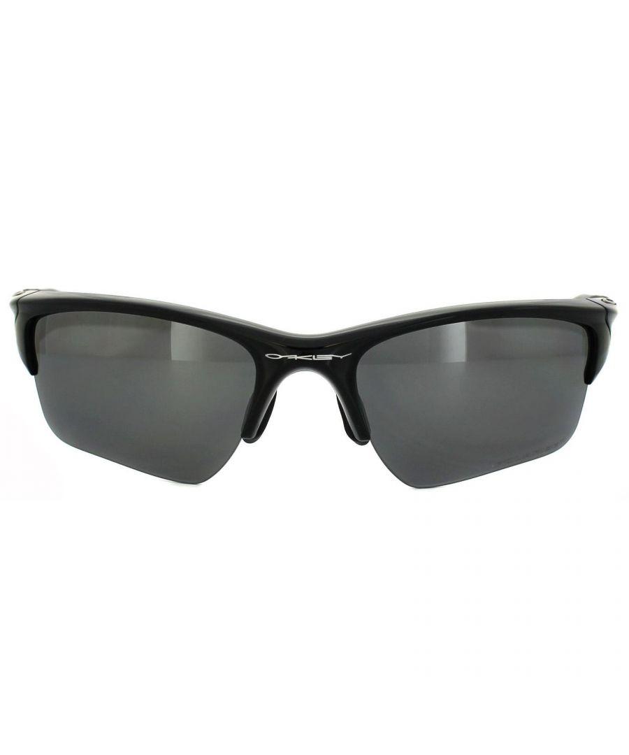 Image for Oakley Sunglasses Half Jacket 2.0 XL Polished Black Black Iridium Polarized OO9154-05
