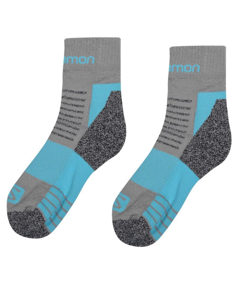 Image for Salomon Womens Merino Low Socks Breathable Outdoor Walking Trekking Hiking