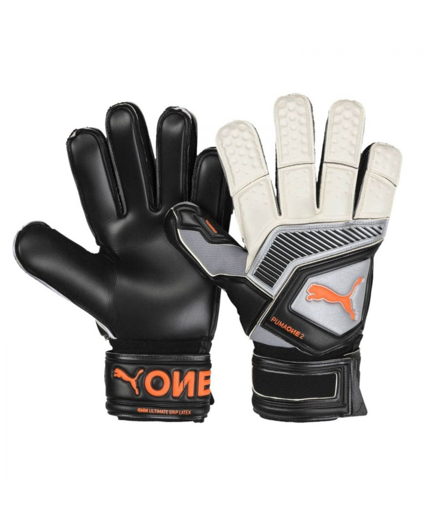 Image for Puma One Protect 2 RC Mens Goalkeeper Glove Black/Silver - 10
