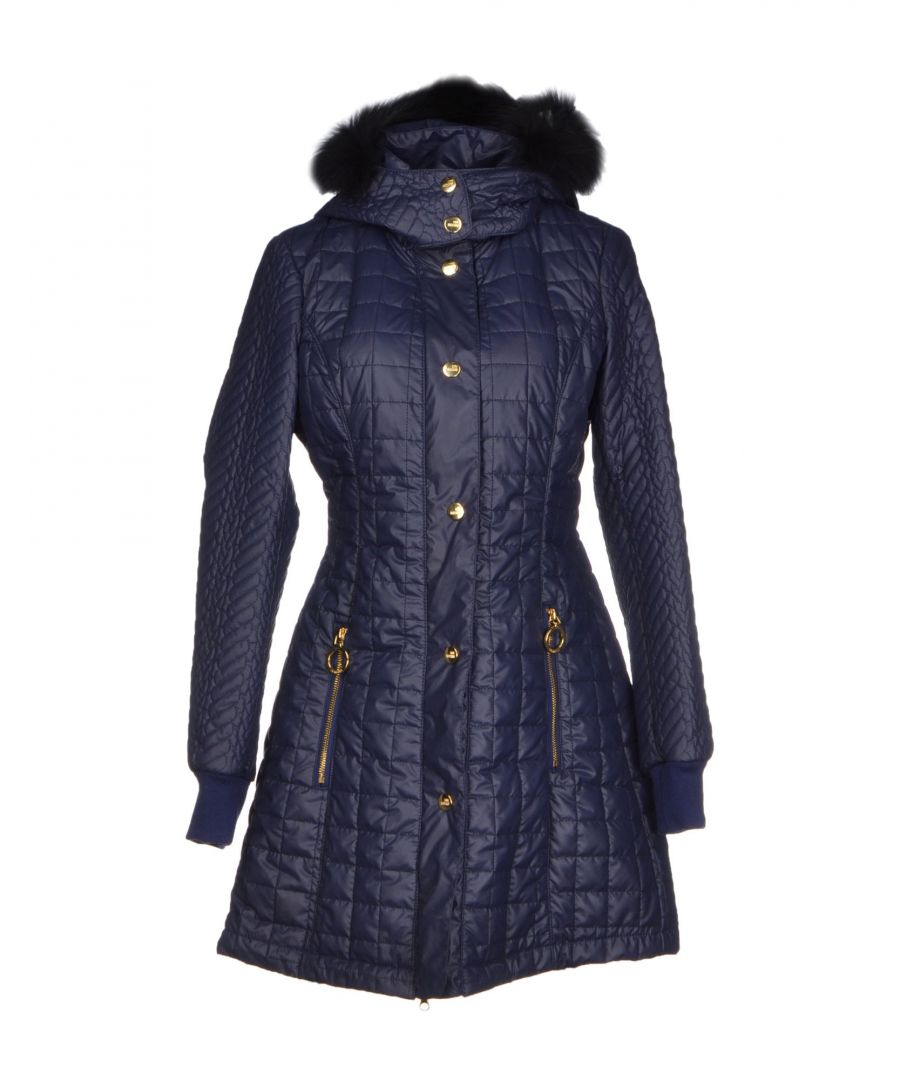 Image for Love Moschino Dark Blue Techno Fabric Jacket
