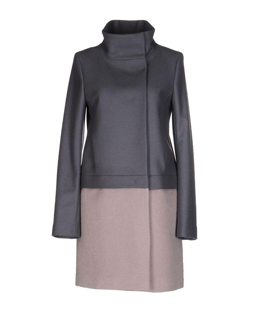 Image for Patrizia Pepe Grey Wool Coat
