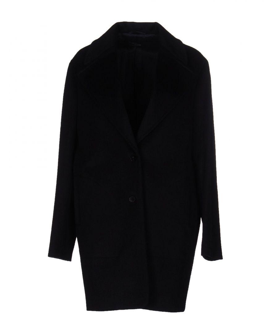 Image for Joseph Dark Blue Wool Coat
