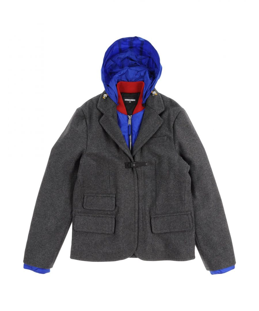 Image for COATS & JACKETS Boy Dsquared2 Grey Virgin Wool