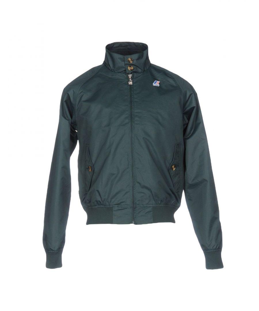 Image for K-Way Dark Green Techno Fabric Jacket
