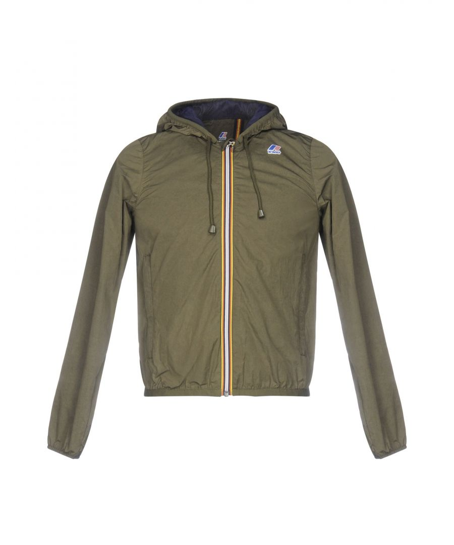 Image for K-Way Military Green Techno Fabric Jacket