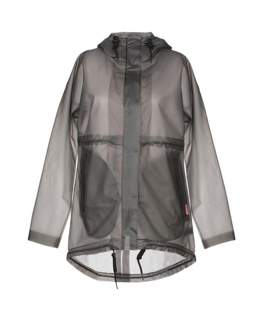Image for Hunter Grey Techno Fabric Raincoat