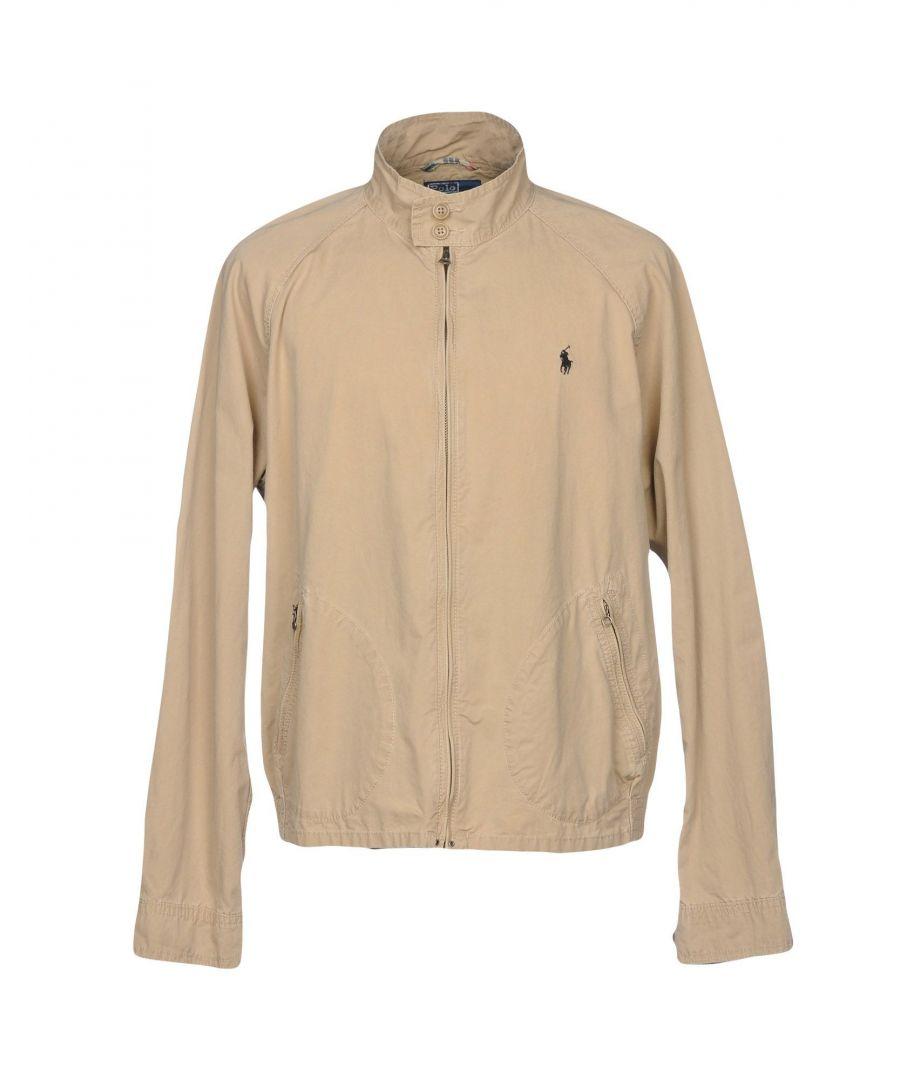 Image for Polo Ralph Lauren Beige Cotton Bomber Jacket