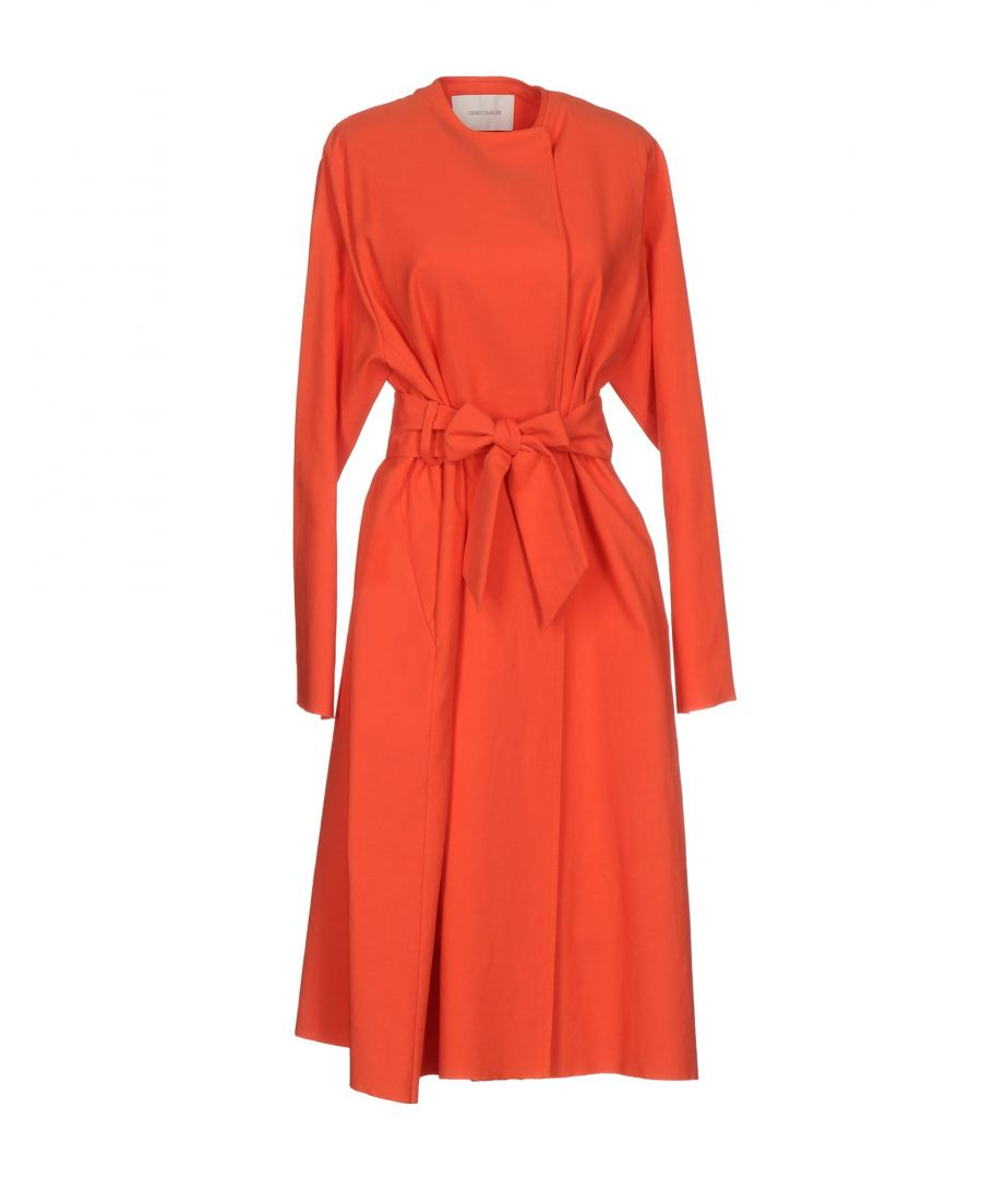 Image for Cedric Charlier Coral Cotton Coat