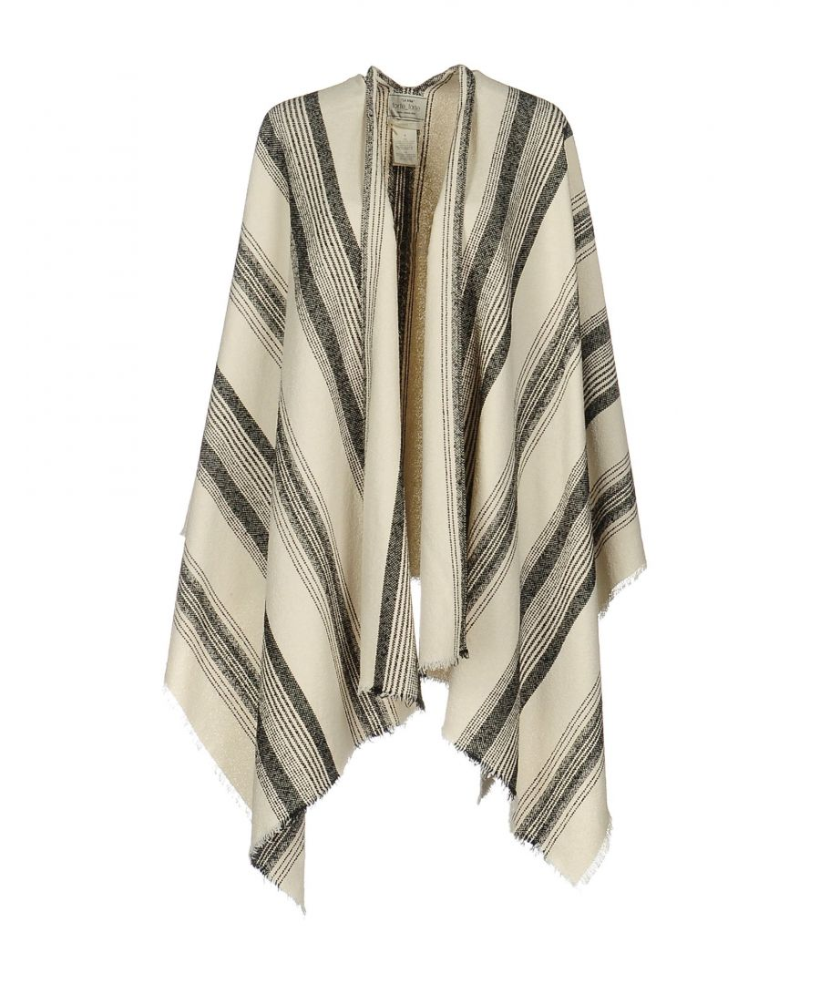 Image for Forte_Forte Beige Cotton Wrap