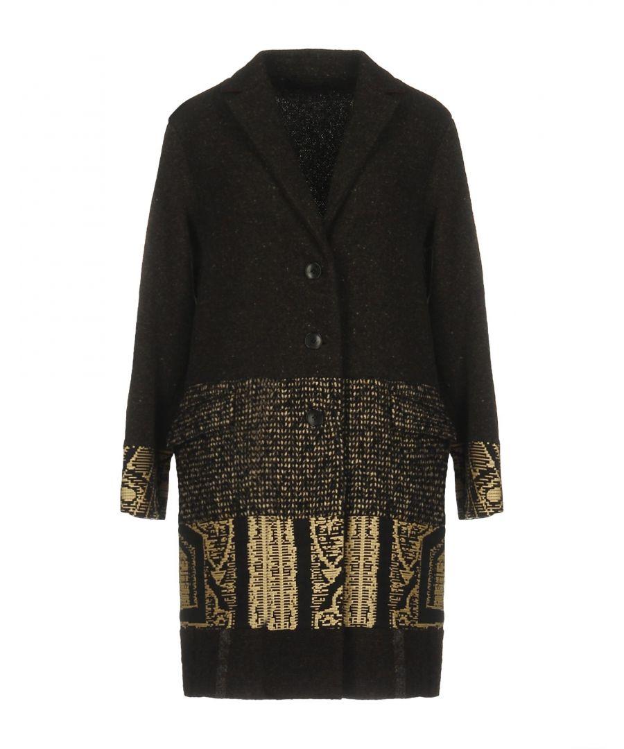 Image for Etro Dark Brown Wool Coat