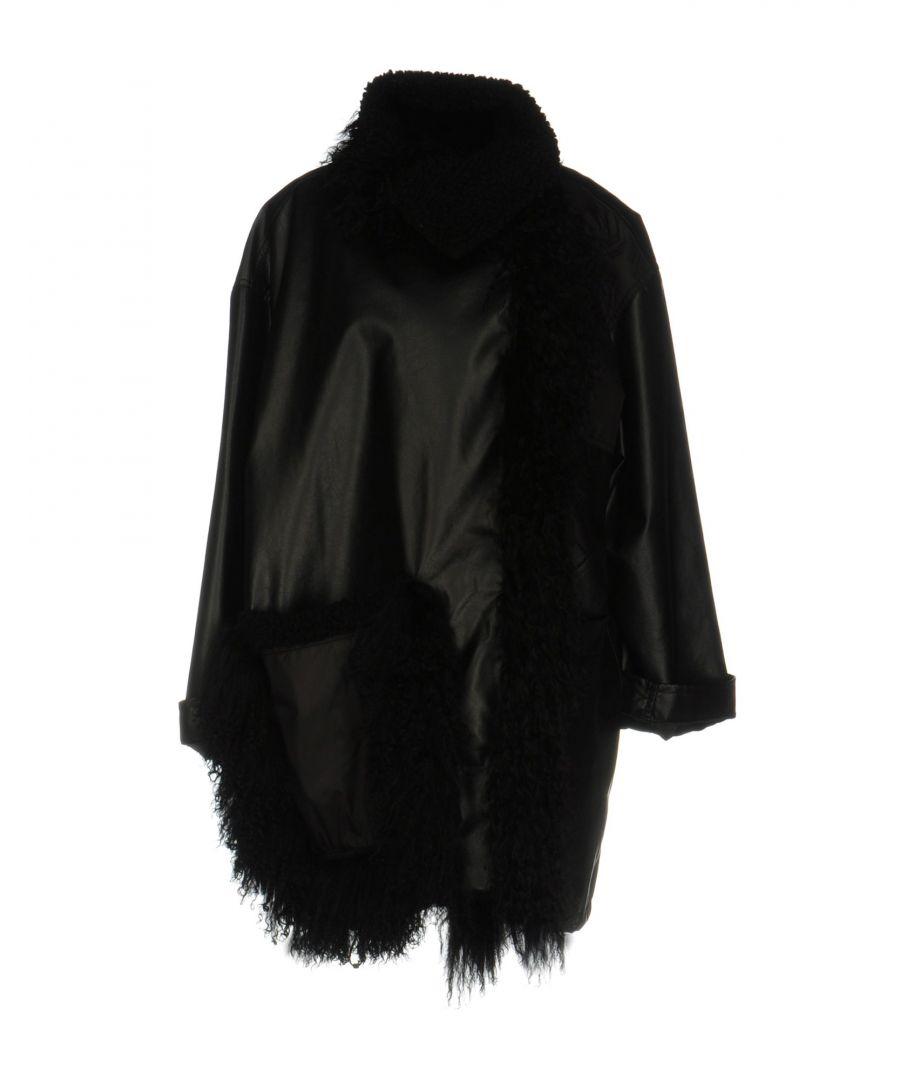 Image for Paco Rabanne Black Coated Effect Jacket