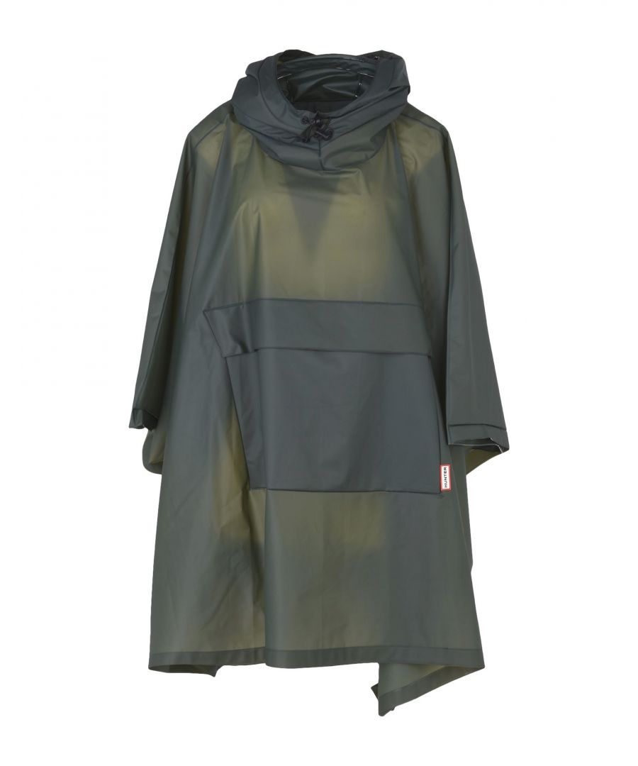 Image for Hunter Green Techno Fabric Poncho