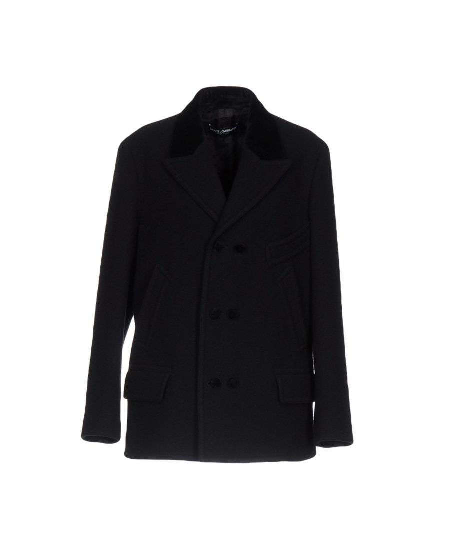 Image for COATS & JACKETS Dolce & Gabbana Black Woman Wool