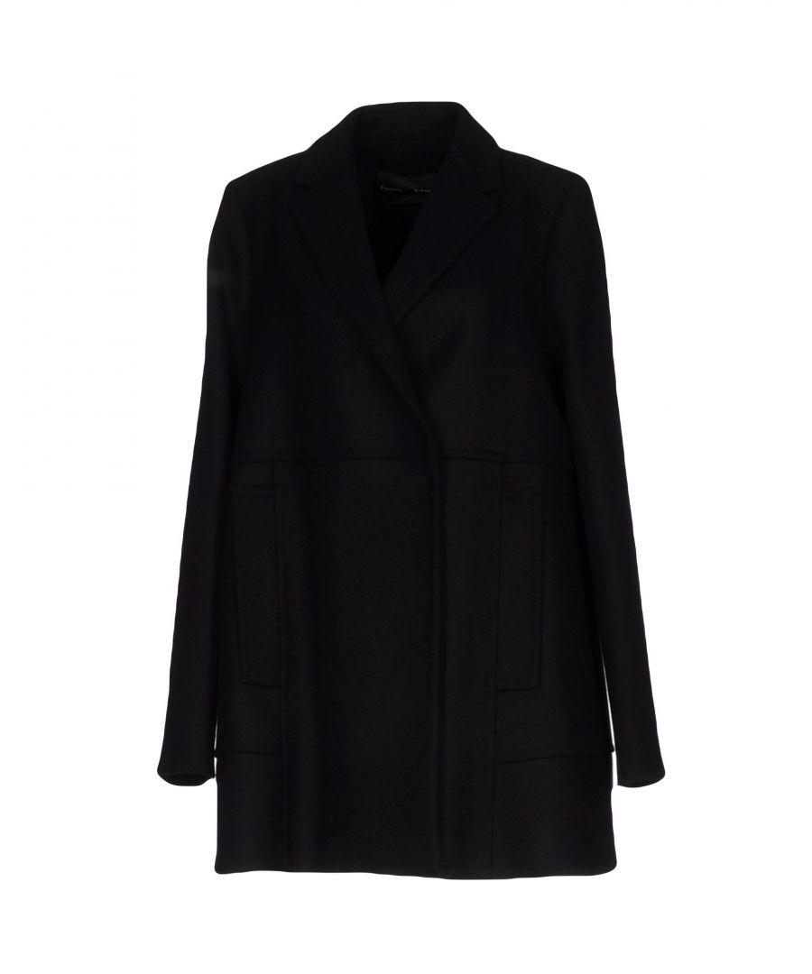 Image for Proenza Schouler Black Wool Coat