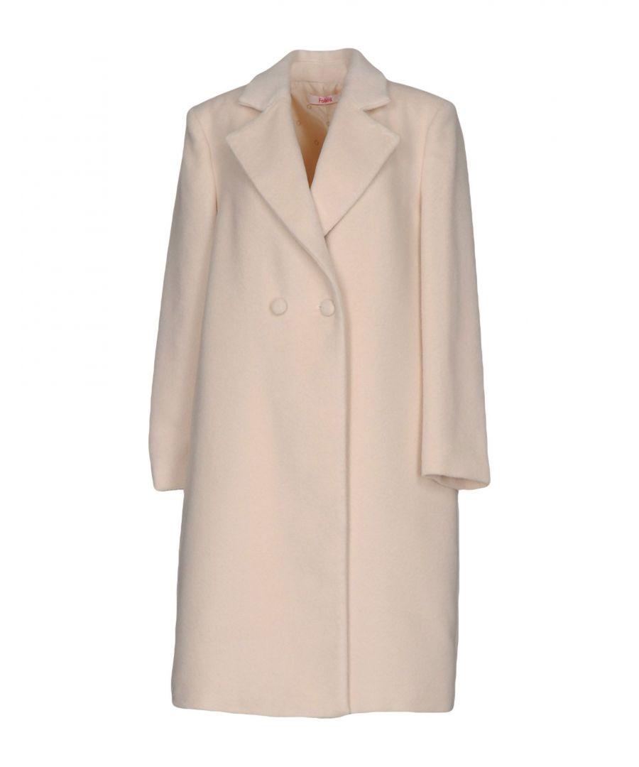 Image for Blugirl Blumarine Ivory Overcoat