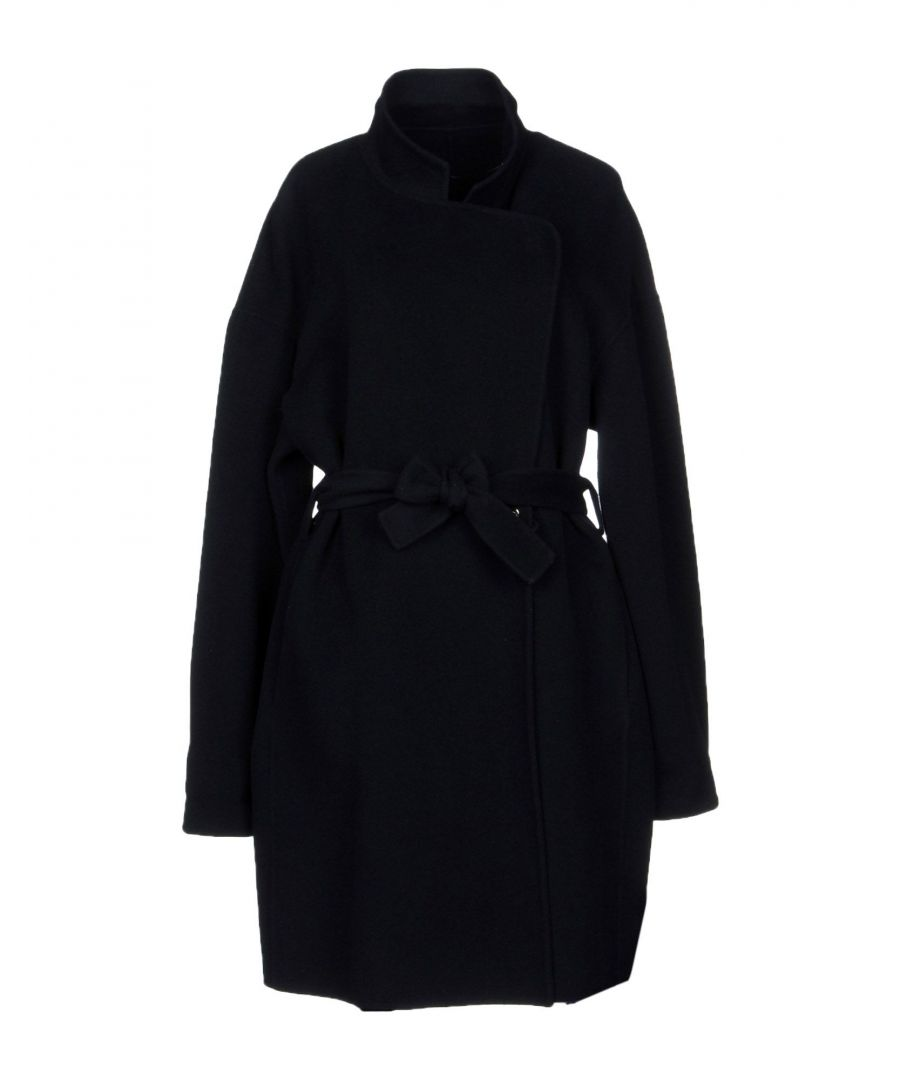 Image for Pinko Dark Blue Wool Coat