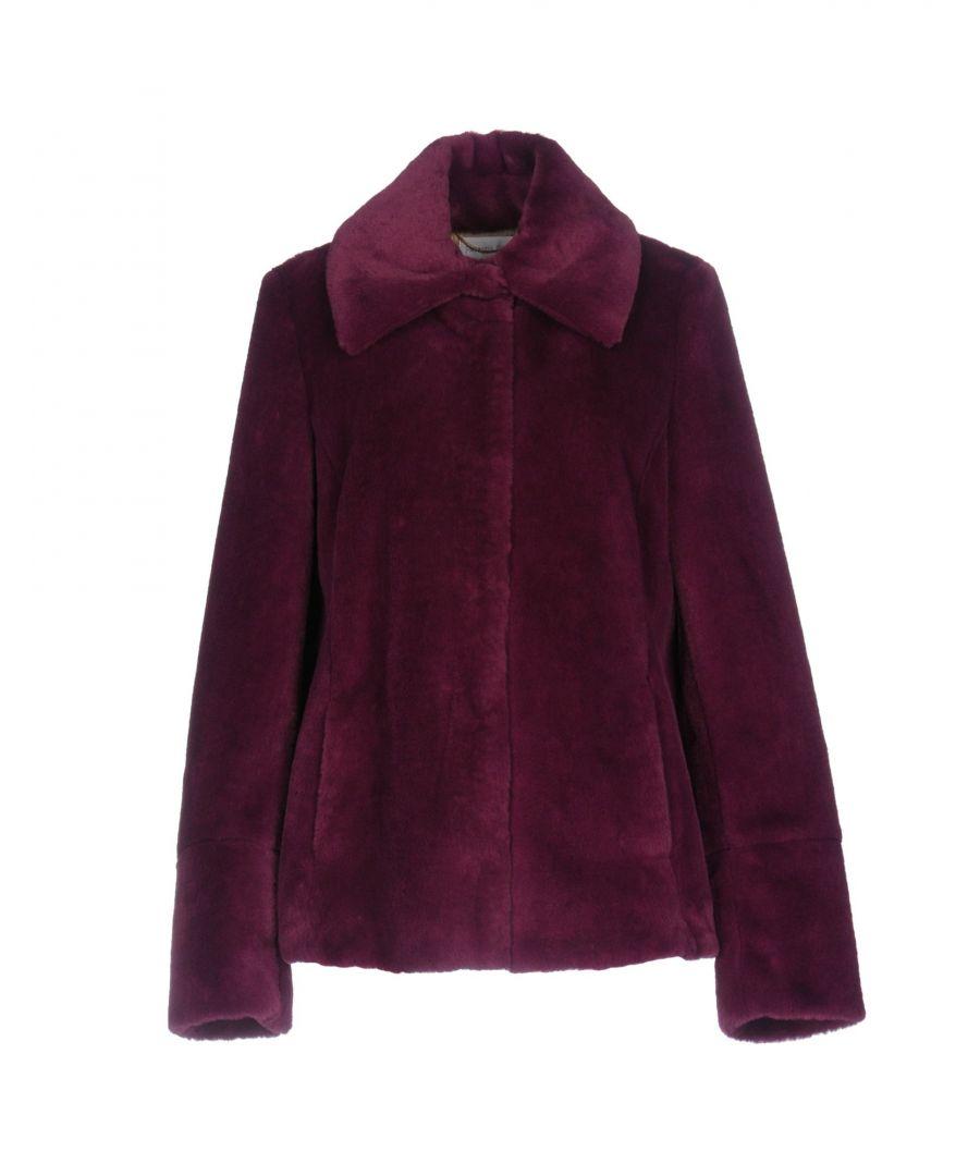 Image for Patrizia Pepe Garnet Faux Fur Jacket