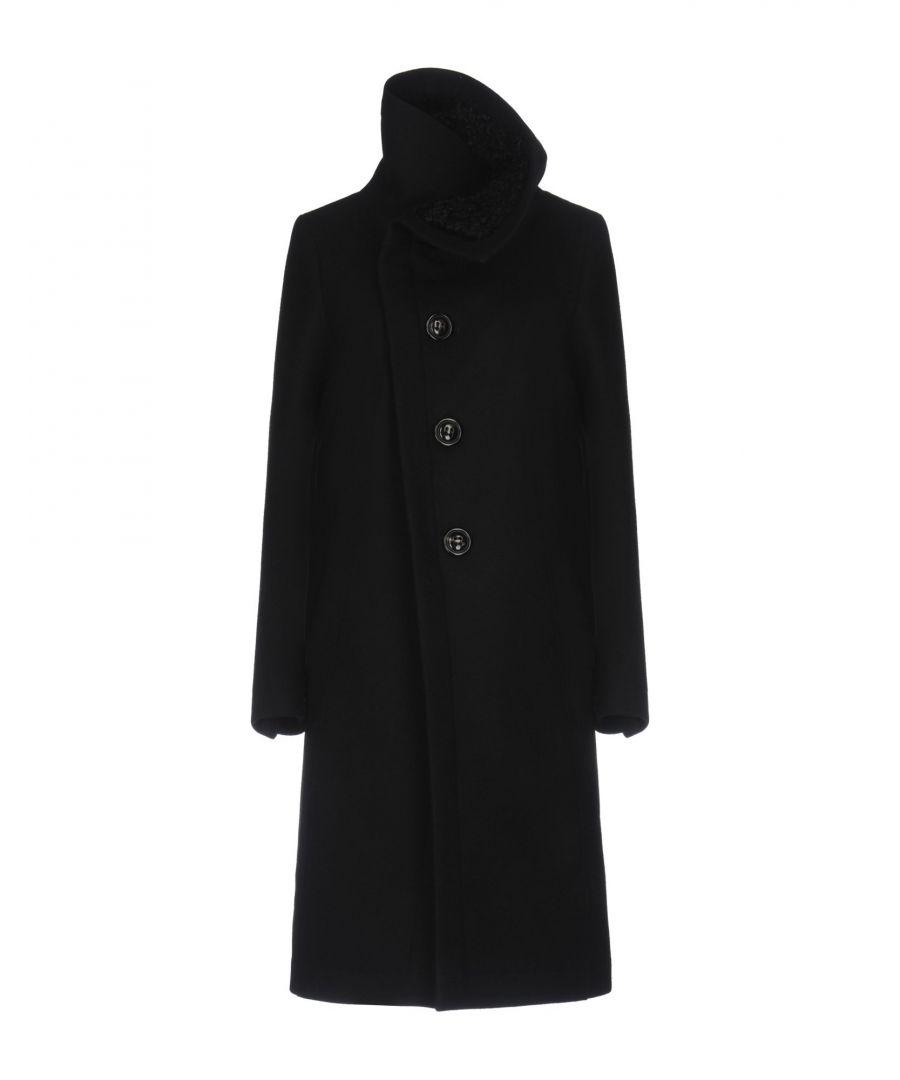 Image for Dsquared2 Black Virgin Wool Coat